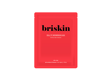 [Briskin] Real Fit Second Skin Mask (Anti Wrinkle & Firmness) 1 piece - Ohmykitty Online Store