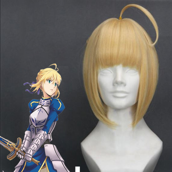 Fate / Zero Stay Night- Saber Artoria Pendragon  - Cosplay Wig - Ohmykitty Online Store