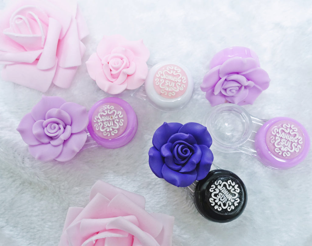 Anna Sui Rose Lens Case - Ohmykitty Online Store