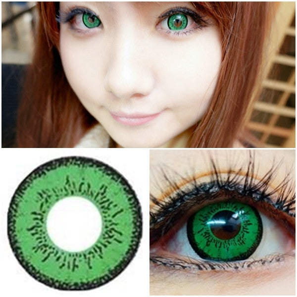 DollyEye Dolly Eye Green - Ohmykitty Online Store