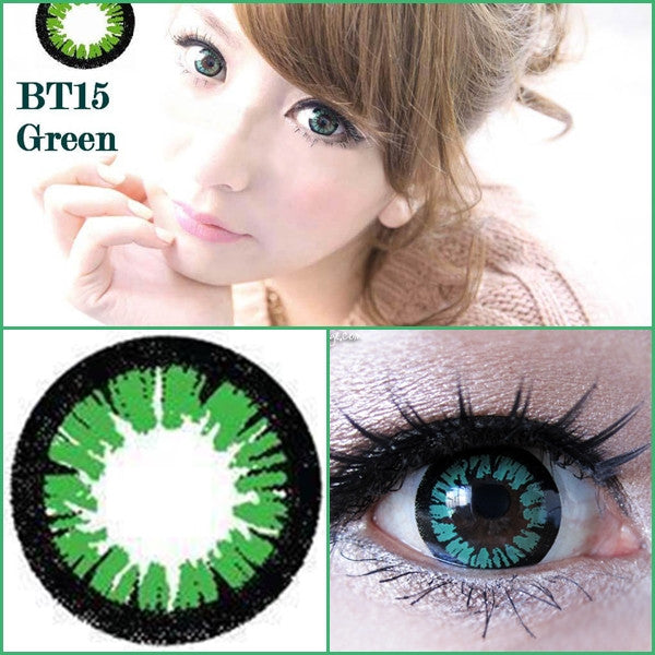 DollyEye BT15 Green - Ohmykitty Online Store