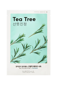 [Missha] Airy Fit Sheet Mask (Tea Tree)  x 1pc