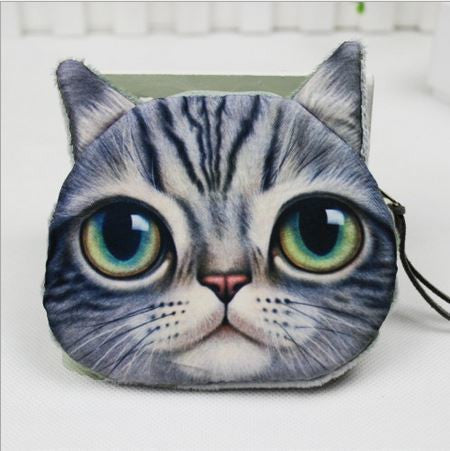 Cat Coin Zipper Pouch (E) - Ohmykitty Online Store