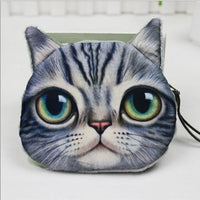 Cat Coin Zipper Pouch (E)