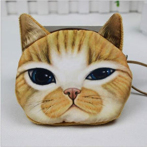 Cat Coin Zipper Pouch (D) - Ohmykitty Online Store