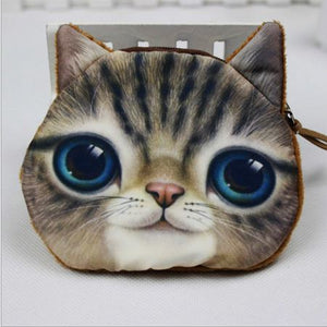 Cat Coin Zipper Pouch (A)
