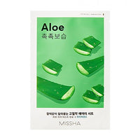 [Missha] Airy Fit Sheet Mask (Aloe)  x 1pc - Ohmykitty Online Store