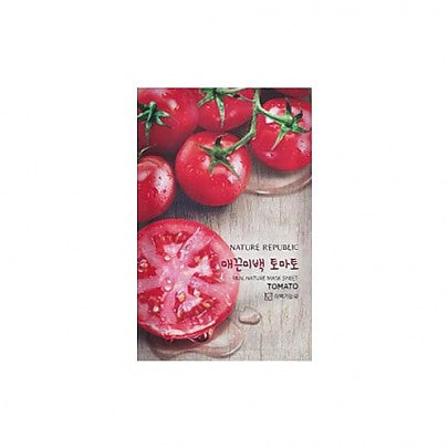 [Nature Republic] Real Nature Mask Sheet/ Tomato (x1)