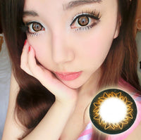 Starburst Brown 15mm - Ohmykitty Online Store
