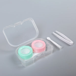 Simple Pastel Duo Color Lens Case Kit