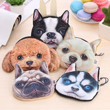 Dog Coin Zipper Pouch (A)