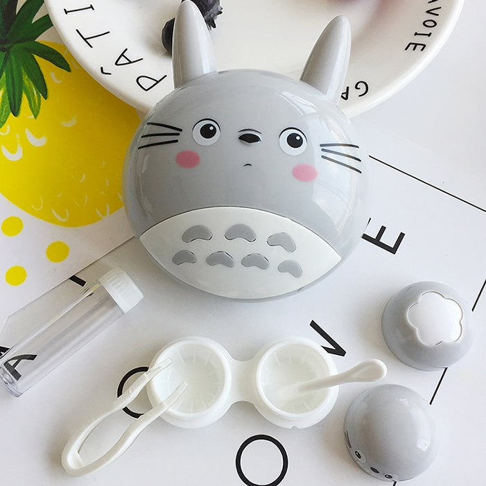 Totoro head Cute Lens Case