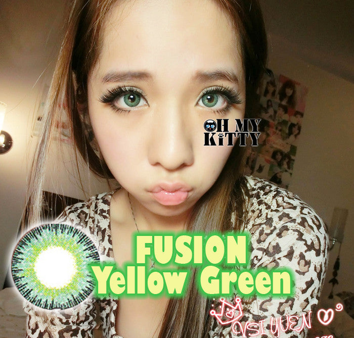 Fusion Green Yellow - Ohmykitty Online Store