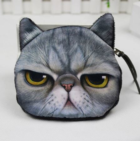Cat Coin Zipper Pouch (C) - Ohmykitty Online Store