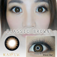 Hyperopia Classic Brown (+ Prescription)