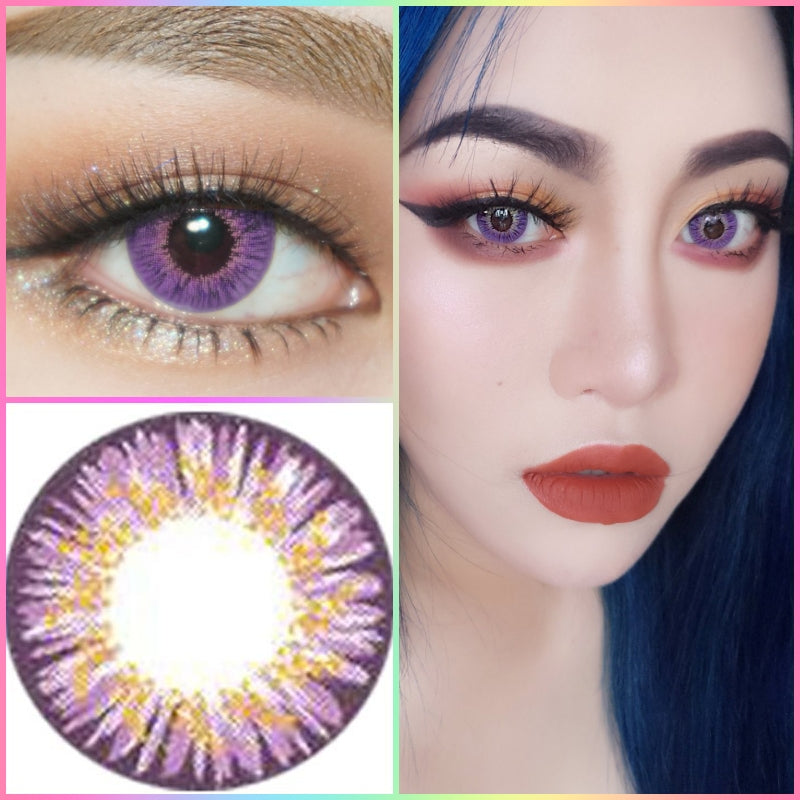 Western Eyes Frozen Elf Violet