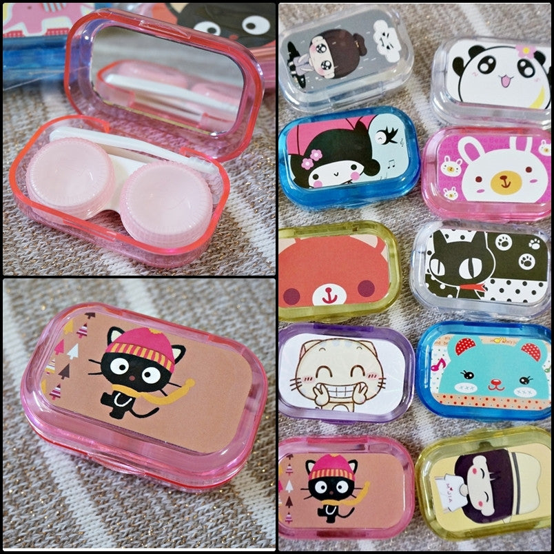 Contact Lenses Case kit (with Mirror)