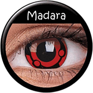 Madara's Mangekyou Sharingan Cosplay Contacts - Ohmykitty Online Store