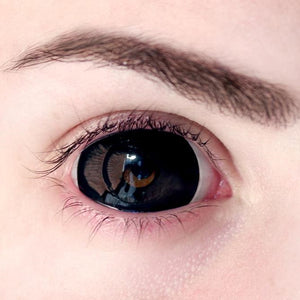 Black Sclera 22mm (with prescription) - Ohmykitty Online Store