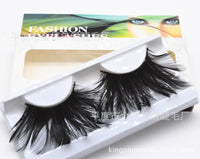Black Light Feather Eyelashes (Halloween / Stage effect)