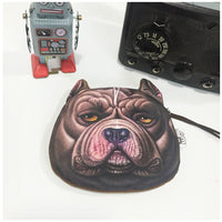 Dog Coin Zipper Pouch (Bulldog) - Ohmykitty Online Store