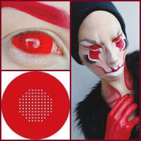Sclera Red Mesh 22mm - Ohmykitty Online Store
