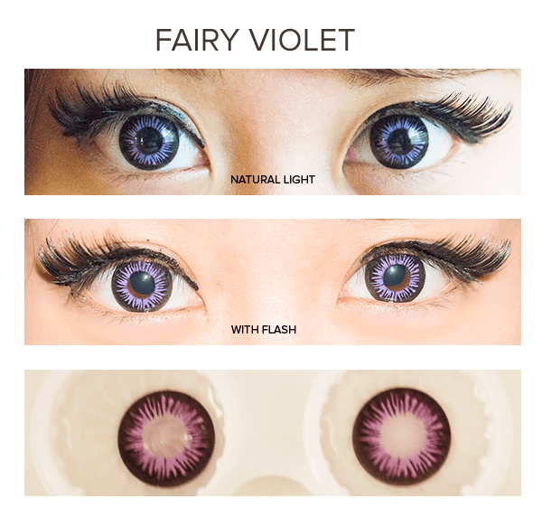 DollyEye Fairy Violet