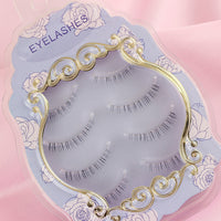 Natural Bottom False eyelashes 4 Pairs - Ohmykitty Online Store