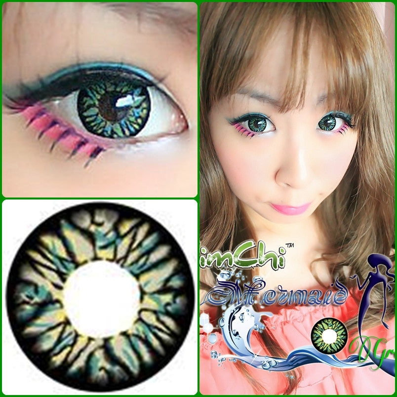 Mermaid Green - Ohmykitty Online Store
