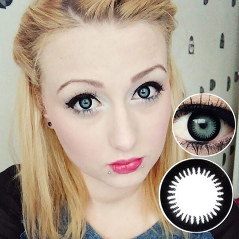 Black Circle Lenses 0.00 - Ohmykitty Online Store