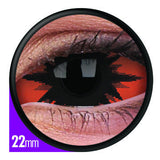 Sclera Lens Omega Red 22mm - Ohmykitty Online Store