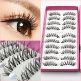 10 pairs high volume natural false Eyelashes - Ohmykitty Online Store