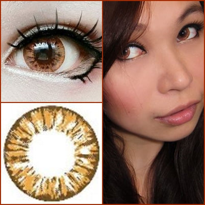 Dollyeye Starry Eyes Brown - Ohmykitty Online Store