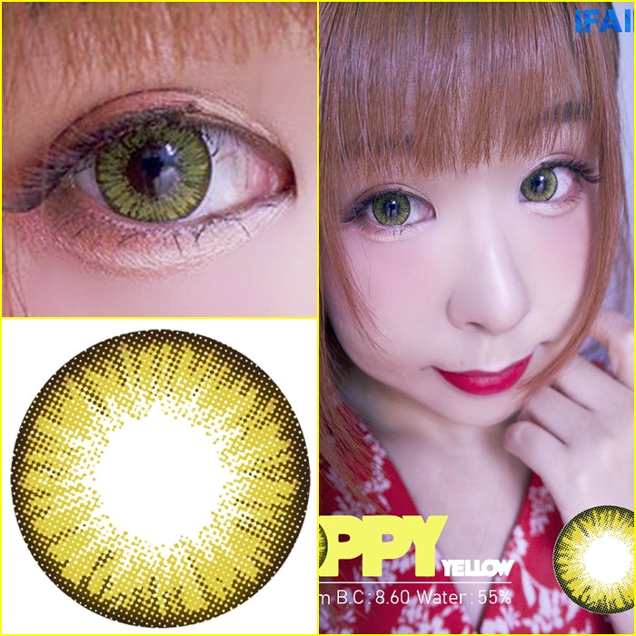 i.Fairy Poppy Yellow - Ohmykitty Online Store