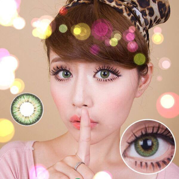 Puffy 3 tones Green (Prescription) - Ohmykitty Online Store