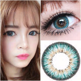 Puffy 3 Tones Turquoise - Ohmykitty Online Store