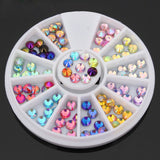 12 Colors Nail Art Rhinestones 4mm - Ohmykitty Online Store