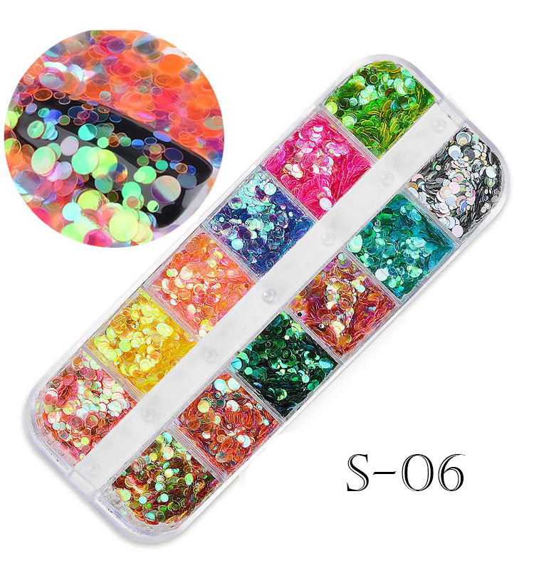 12 in 1 Mixed Magic Jewelry Sequin - Ohmykitty Online Store