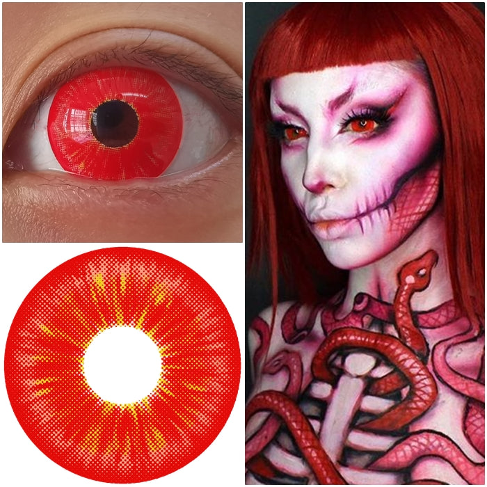 Toxic Red 17mm - Ohmykitty Online Store