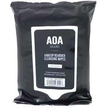 AOA Makeup Remover Wipes - Pure Unscented 15 count