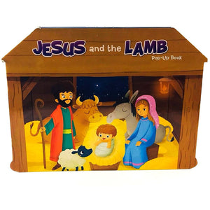 Christmas Stories Pop-Up Board Books Jesus and the Lamb