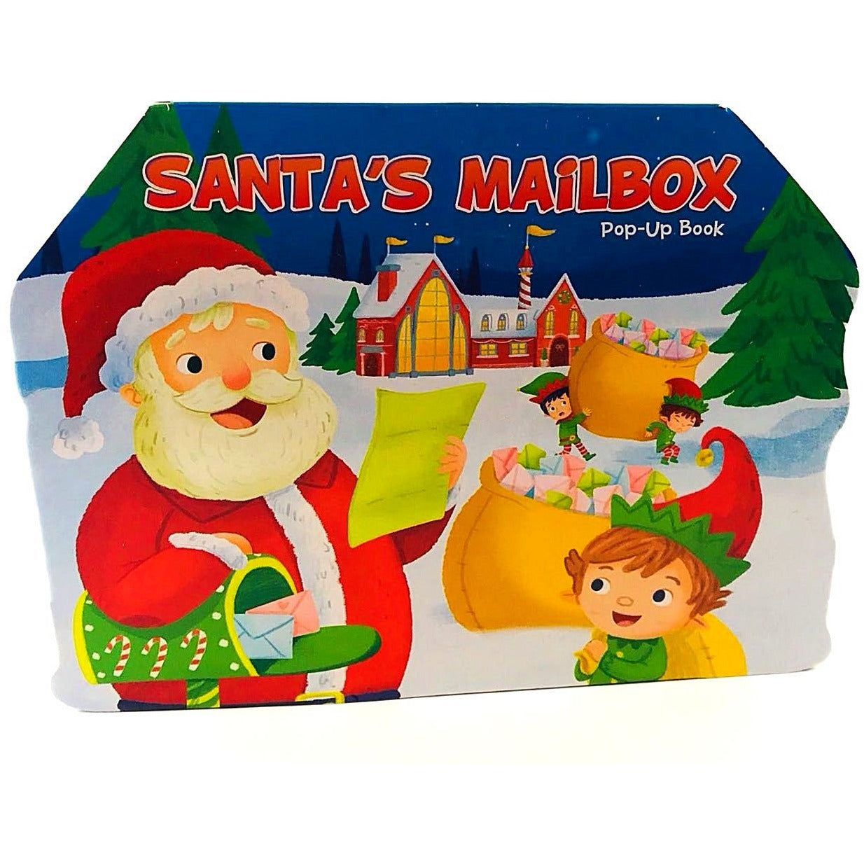 Christmas Stories Pop-Up Board Books Santa's Mailbox