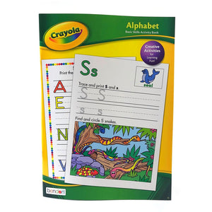 Crayola Basic Skills Activity Books