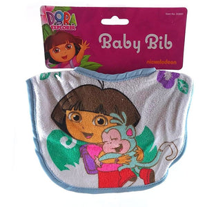 Dora The Explorer Baby Bibs - Blue