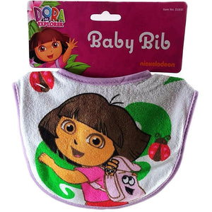 Dora The Explorer Baby Bibs - Purple