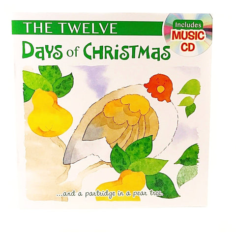 Holiday Story Books with Music CD 12 Day of Christmas