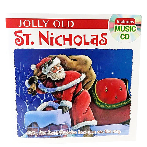 Holiday Story Books with Music CD Jolly Old St. Nicholas