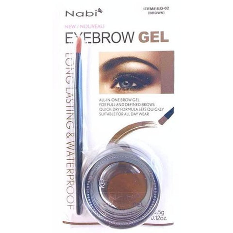Nabi Long Lasting and Waterproof Eyebrow Gel
