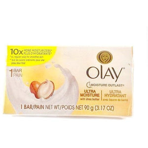 Olay Ultra Moisturizing Soap, 3.17-oz Bars