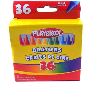 Playskool Crayons 36 count pack
